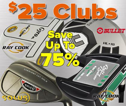 $25 Golf Clubs!