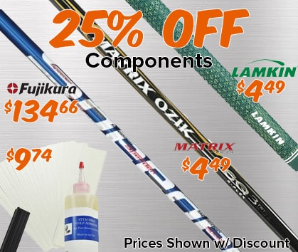 25% OFF Components!