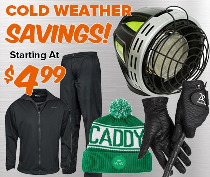 Cold Weather Savings - Starting At $4.99!