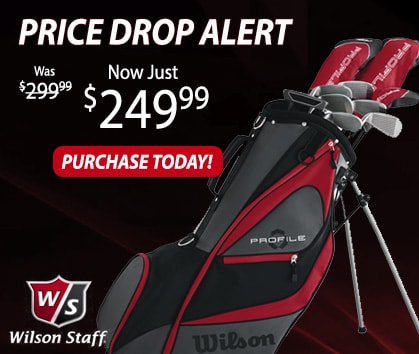 Price Drop Alert! New LOWER Price On Wilson Profile Package Sets!
