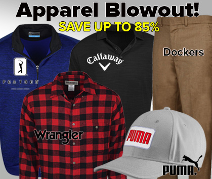 Weekend Apparel Blowout!