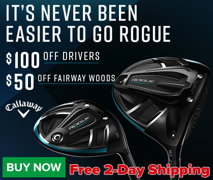 Callaway Rogue Price Drops Plus FREE 2-Day Delivery!