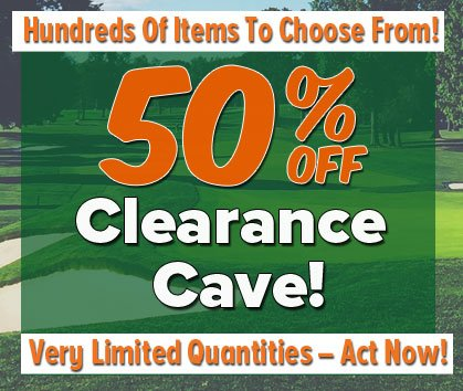 50% Off Clearance Cave!