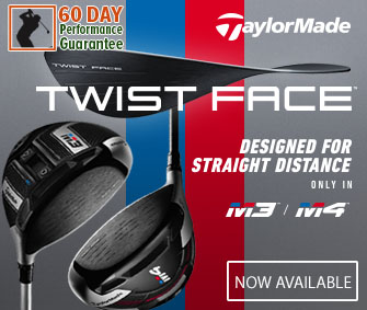 TaylorMade M3/M4 Designed With Twist Face Available At RBG!