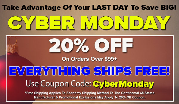 20% OFF Site Wide PLUS EVERYTHING Ships FREE SECRET SALE For Cyber Monday!