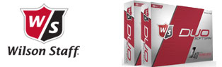 2 For $45 Wilson Staff Duo Soft Spin Golf Balls!