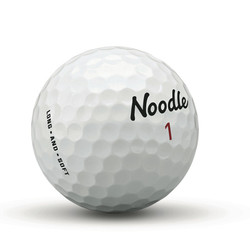TaylorMade Noodle Long & Soft Golf Balls 15-Pack