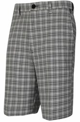 Haggar- Cool 18 Pro Mini Plaid Shorts