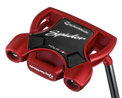 Pre-Owned TaylorMade Golf MLH Spider Tour Red Putter *Like New* (Left Handed)
