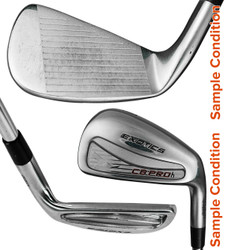 Pre-Owned Mizuno Golf MLH 2015 JPX EZ Forged Irons Steel (8 Iron Set) *Very Good* (Left Hand)