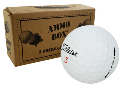 Titleist Pro V1x Mint Used Golf Balls *3-Dozen*
