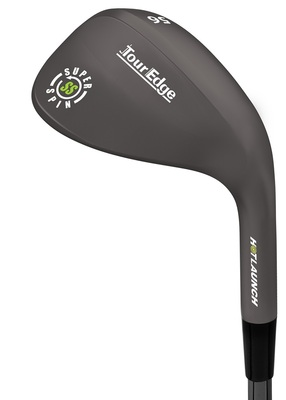 Tour Edge Golf- Ladies Hot Launch Super Spin Black Nickel Wedge
