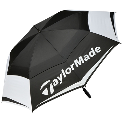 """New TaylorMade Golf- 64"""" Double Canopy Umbrella"""
