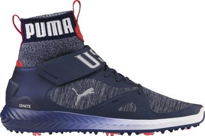 Puma Golf Limited Edition Ryder Cup Ignite PWRADAPT Hi-Top Team USA Shoes