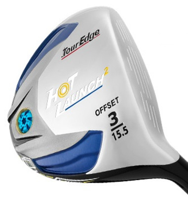 Pre-Owned Tour Edge Golf LLH Hot Launch 2 Draw Fairway Wood *Like New* (Ladies) (Left Handed)