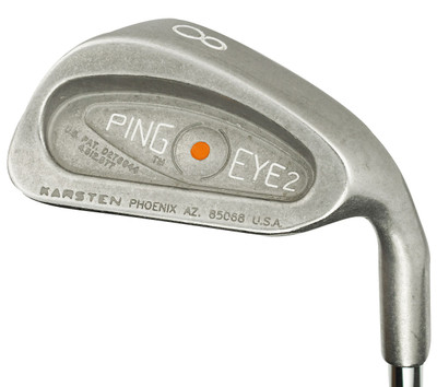 Pre-Owned Ping Golf Eye 2 Irons Steel (8 Iron Set) *Value*