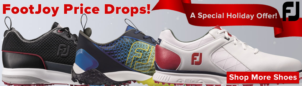FootJoy Price Drops - A Special Holiday Offer!