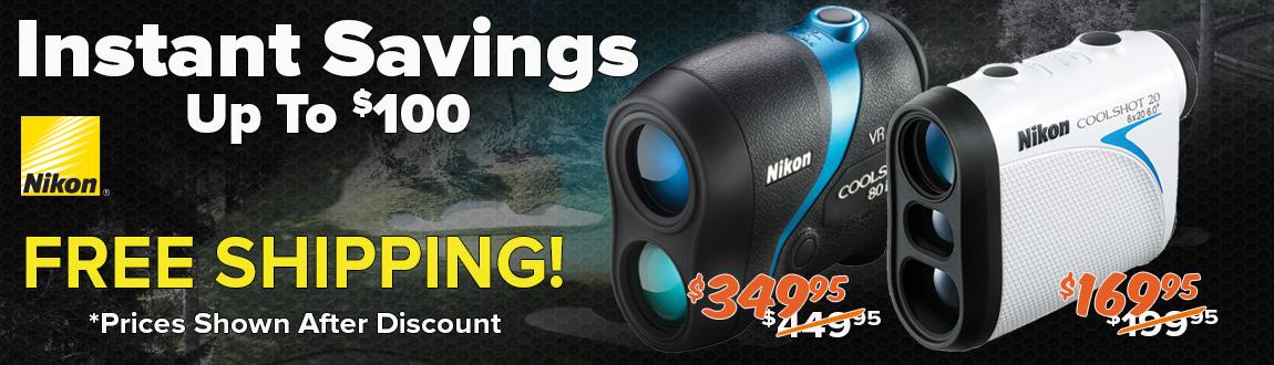 Up To $100 Instant Savings On Nikon!