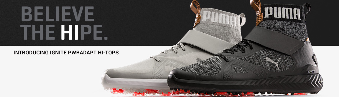 Believe The HIPE! Shop Puma Ignite PWRADAPT Hi-Top Shoes At RBG!