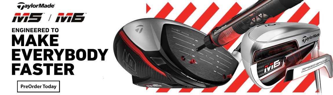 TaylorMade M5/M6 Now Available For Pre-Sale At RBG!