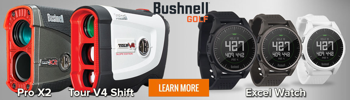 Shop Bushnell Rangefinders & GPS Watches At RBG!