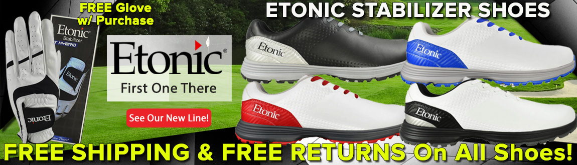 Etonic: First One There! See Our New Line! Free Shipping & Returns On Select Items!