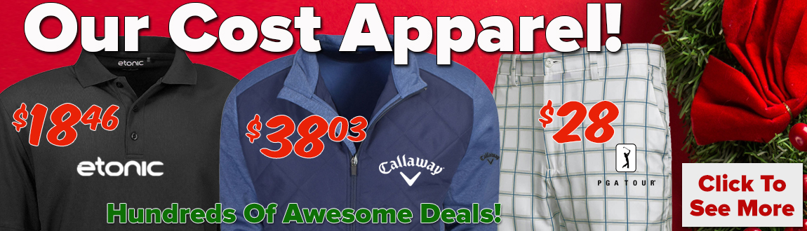 OUR COST Apparel Deals!