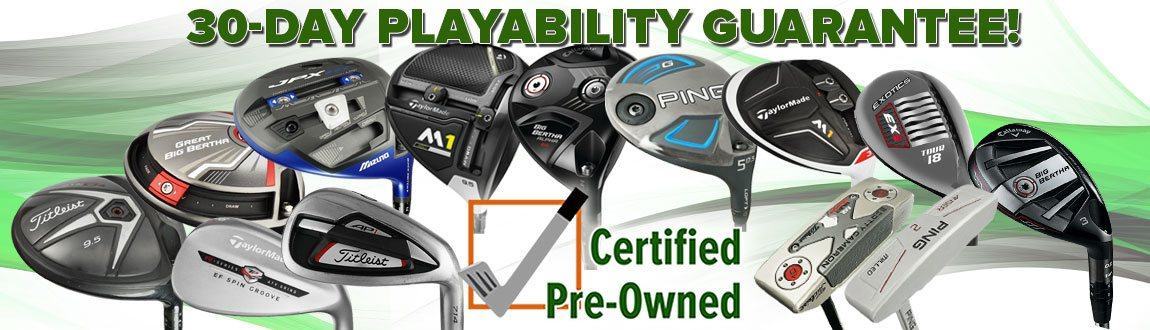Shop Certified Pre-Owned Clubs At RBG!