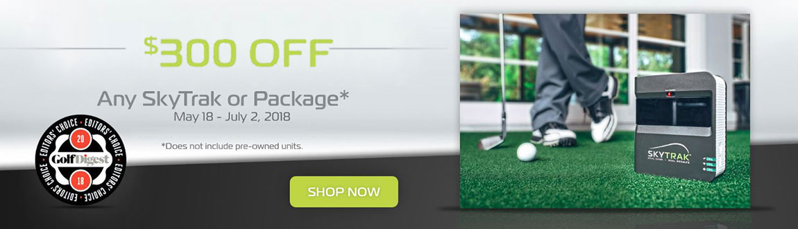 $300 Off ANY SkyTrak Package!