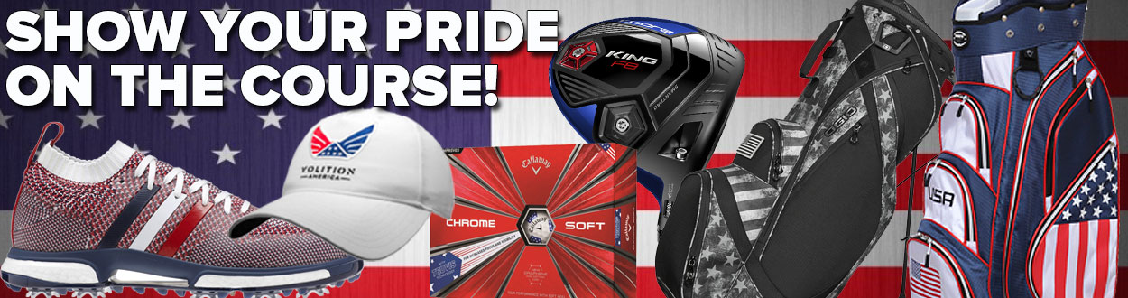 Show Your Pride On The Course!