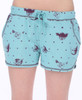 Sleepy Kittens Fleece Shorts