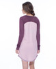 Collage Vintage Wash Jersey Long Sleeve Raglan Nightshirt