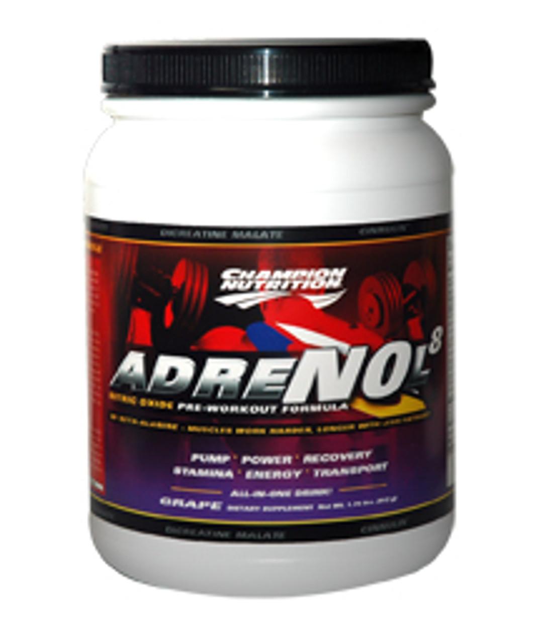 Adrenol8 by Champion Nutrition 820g