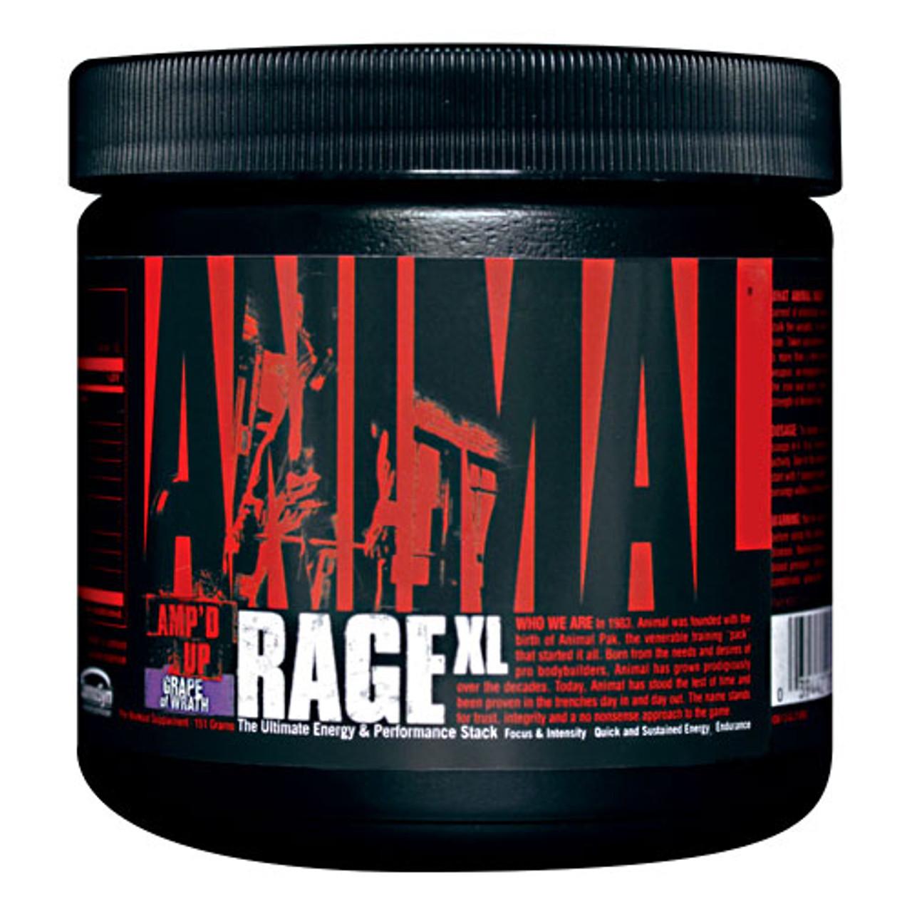Animal Rage XL 30sv Universal Nutrition