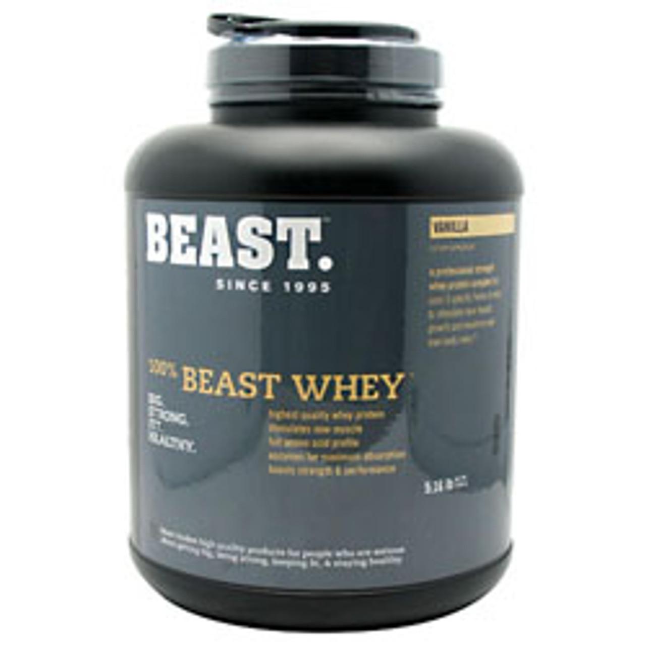 100% Beast Whey 5lb Beast Sports