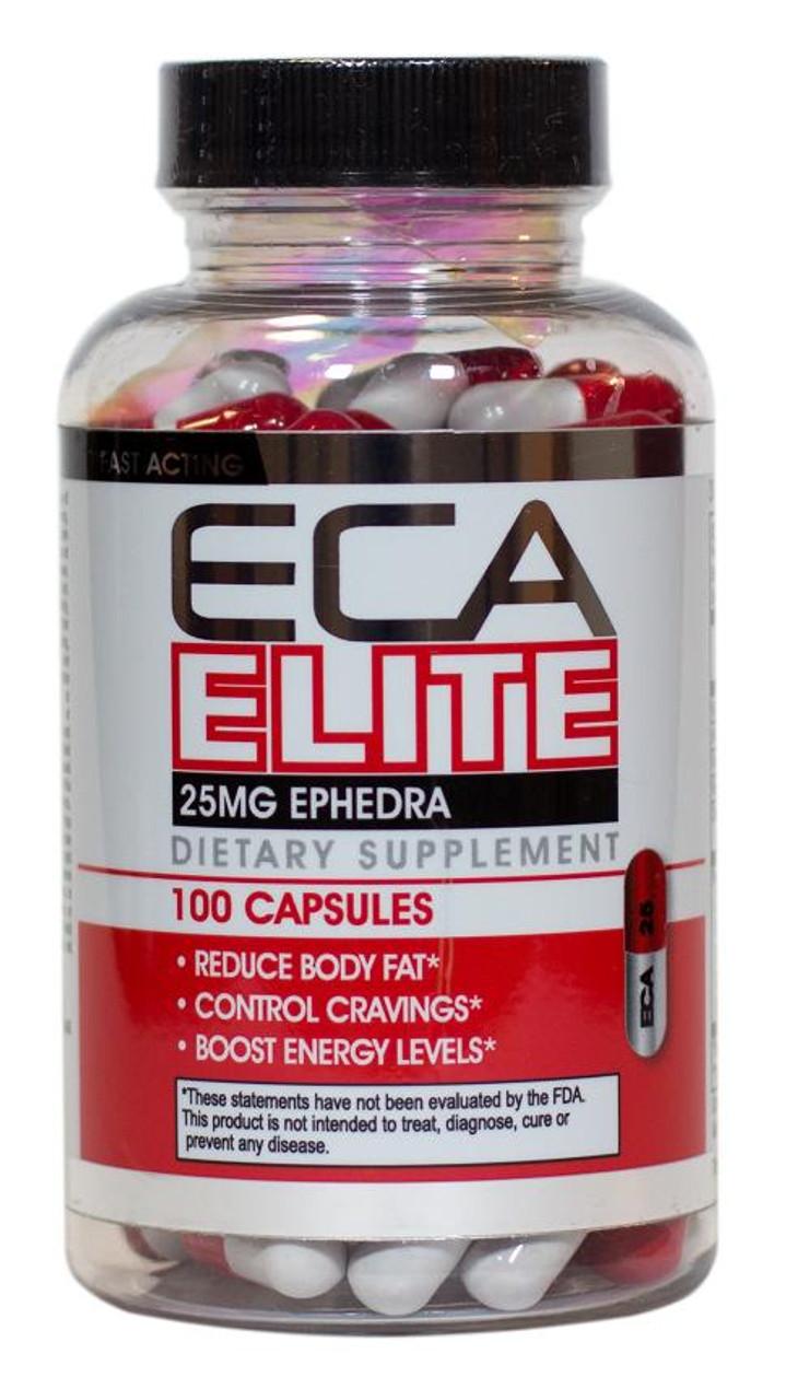 ECA Elite by Hard Rock Supplements 100ct