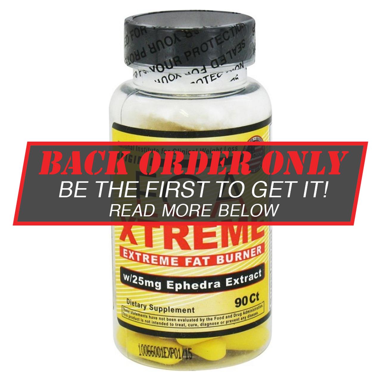 ECA Xtreme Ephedra - Hi-Tech Diet Pills - $29.99 at i