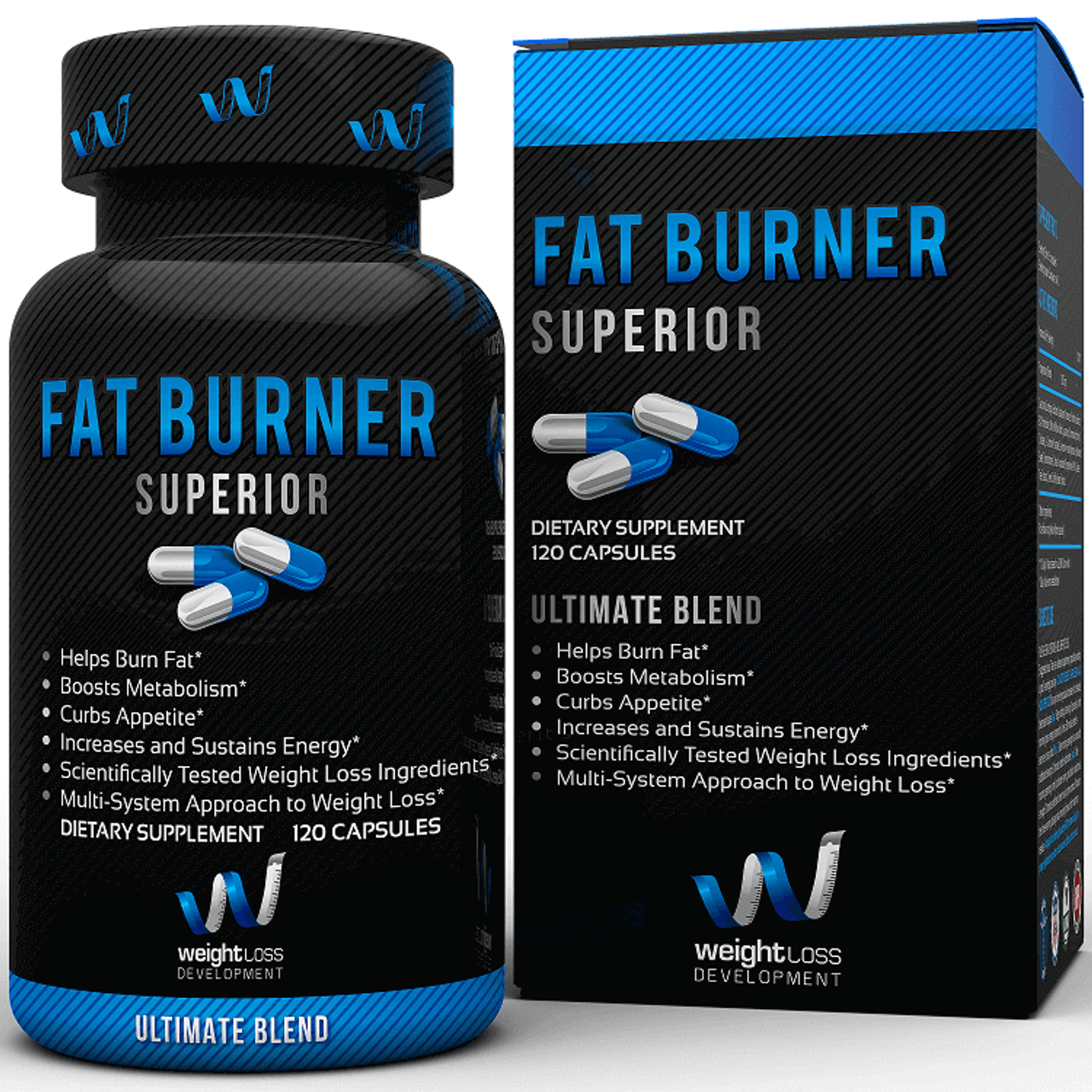 Fat Burner Superior by Weight Loss Development 120ct