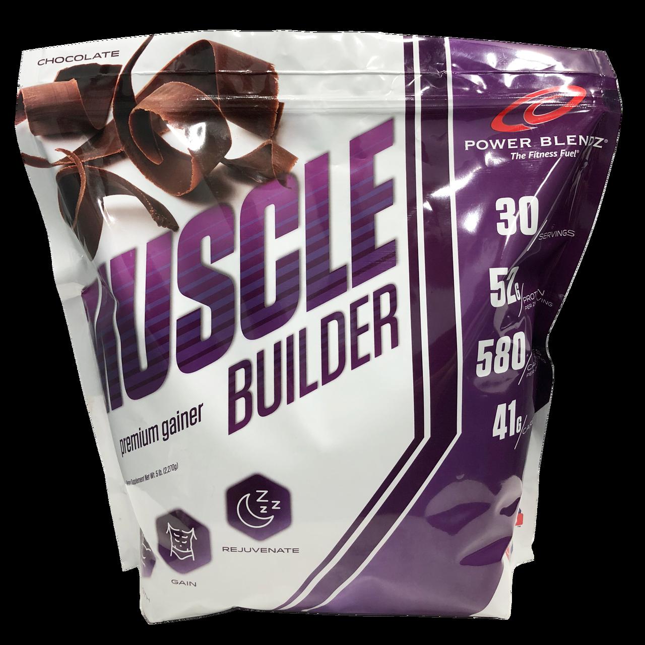 Muscle Builder 5lb Power Blendz - The Fitness Fuel