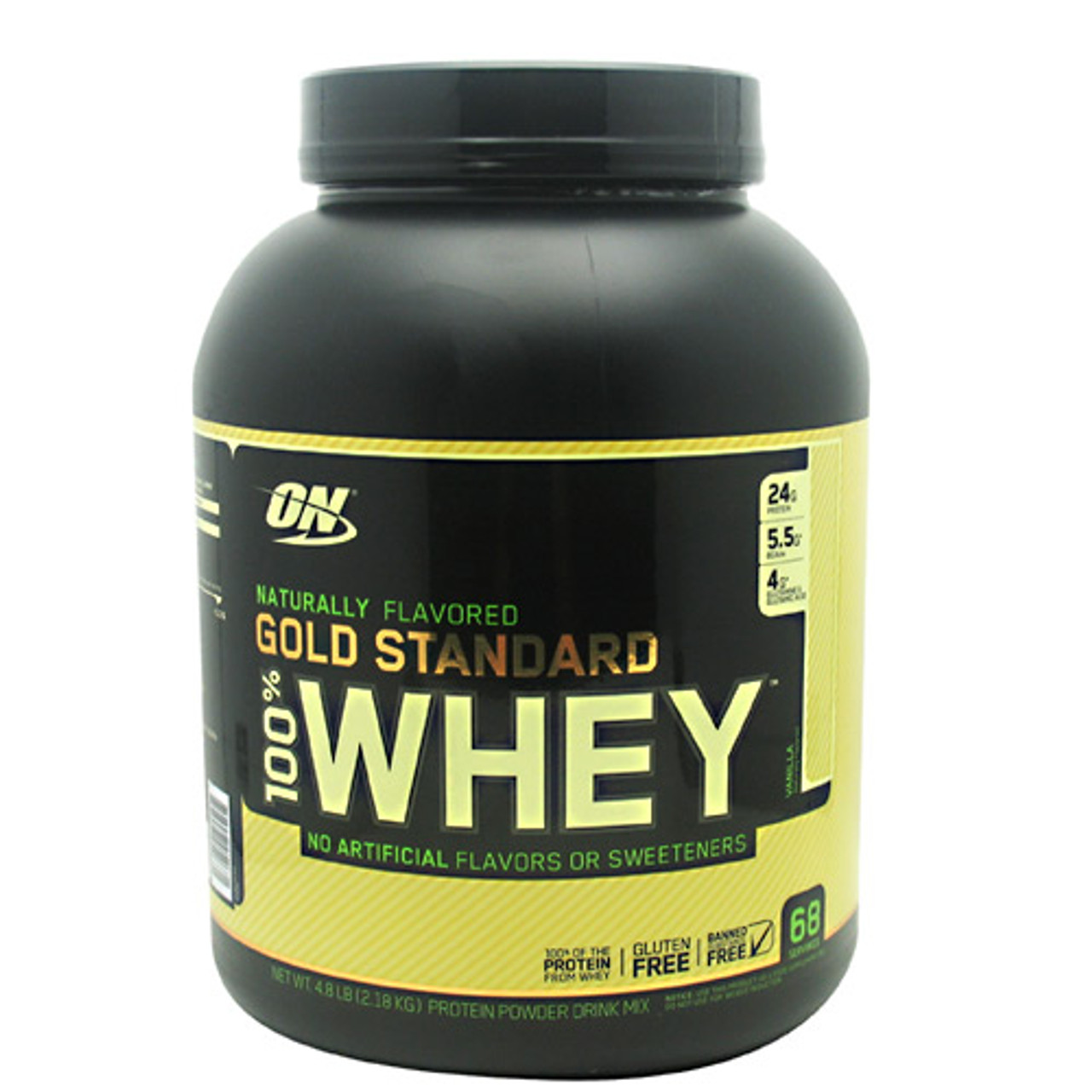 100% Natural Whey Protein 4.5lb Optimum