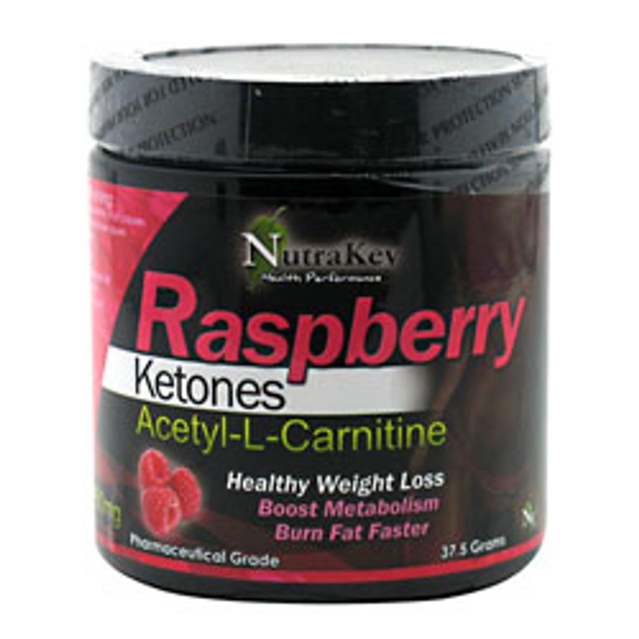 Raspberry Ketones Acetyl-L-Carnitine 37.5g Nutrakey