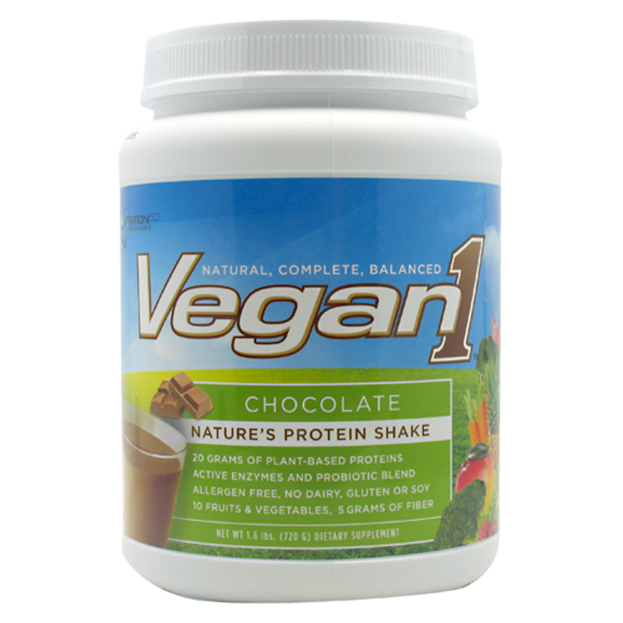 Vegan 1 by Nutrition 53 - 1.5lb