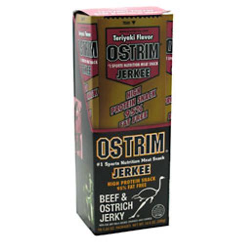 Beef & Ostrich Jerky 10ct Ostrim
