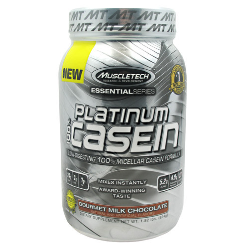 100% Platinum Casein by MuscleTech 27/serv