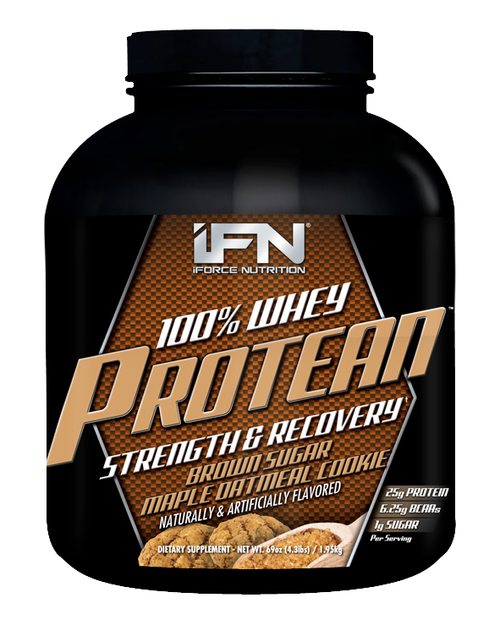 100% Whey Protean 4lb iForce Nutrition