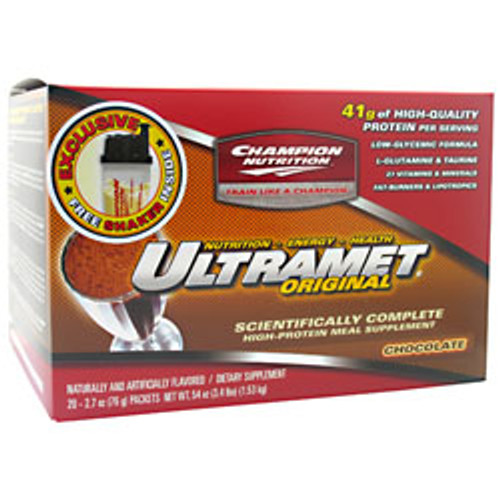ULTRAMET Meal Replacement Drinks 20pks Champion