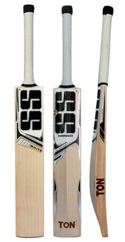 SS White Edition Black Cricket Bat