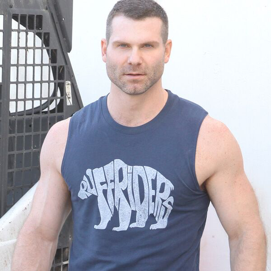 RUFF RIDERS POLAR BEAR MUSCLE TEE