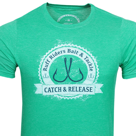 """RUFF RIDERS """"CATCH AND RELEASE"""" Tee"""