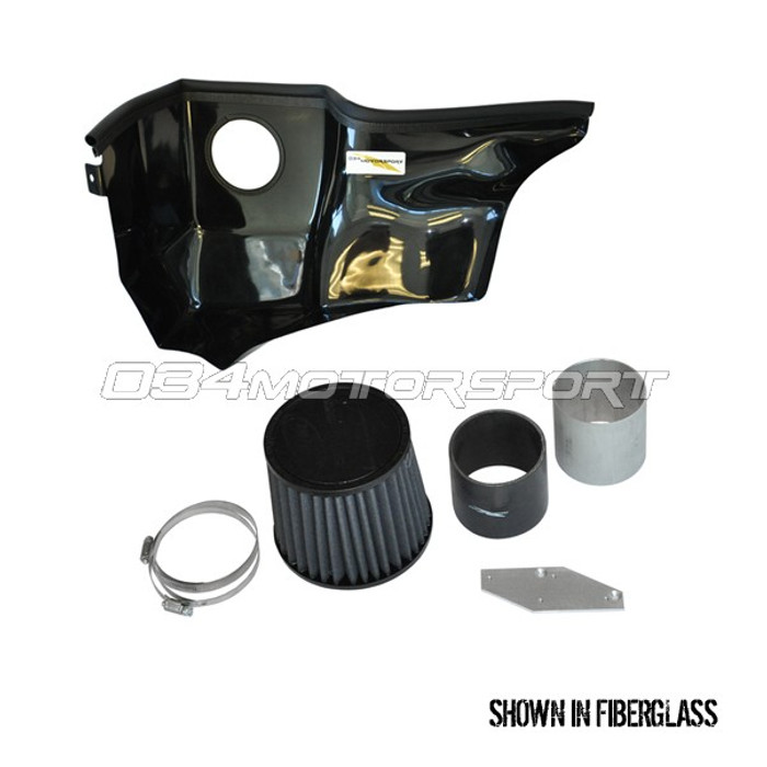 034 Intake, Cold Air, X34 Fiberglass for 2.7T
